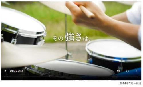 強炭酸水「KUOS(クオス)」CM